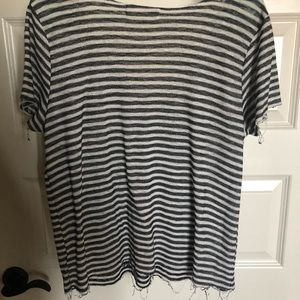 Urban Outfitters Tops - Black and white striped shirt